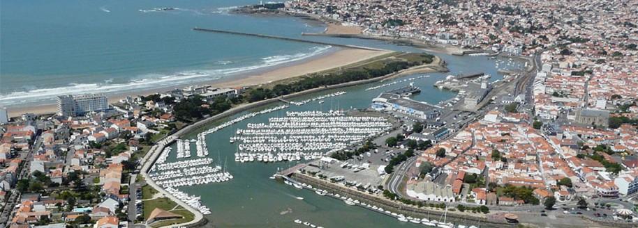 Vue aérienne - Saint-Gilles-Croix-de-Vie - Vendée