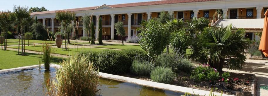 La Villa Gallo Romaine H 244 Tel Sur Le Parc