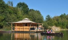 Lien vers l'article «Eco-attitude en Mayenne en cabane insolite»