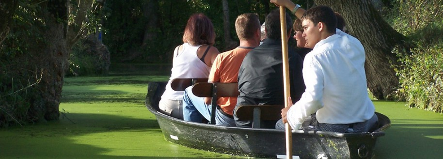 Promenade en barques - Venise Verte - Marais Poitevin - Vendée