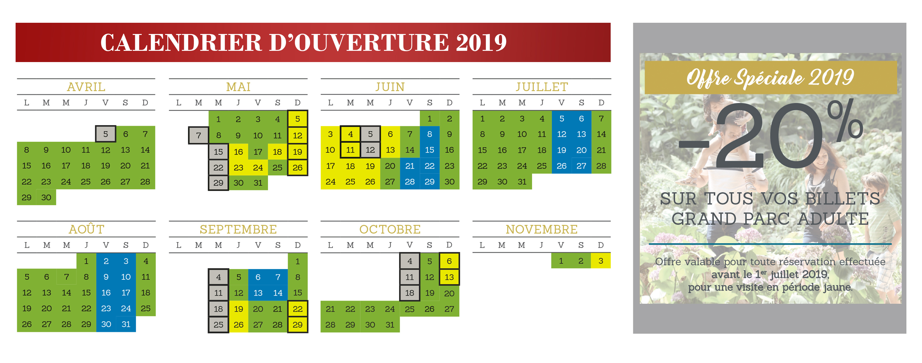 Voir Le Calendrier Douverture De Puy Du Fou 2019