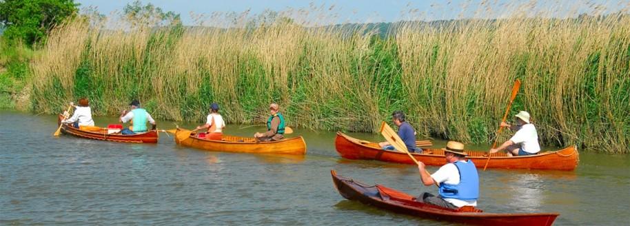 Canoë dans le Marais Breton Vendéen - Sallertaine - Vendée
