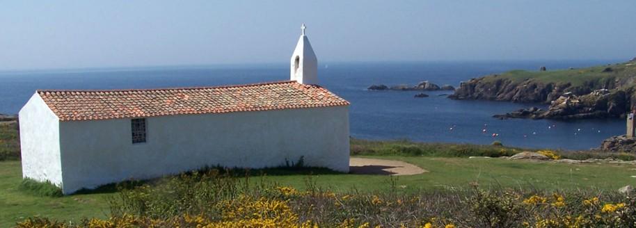 Chapelle du Port de la meule - Île d'Yeu - Vendée - © JCB