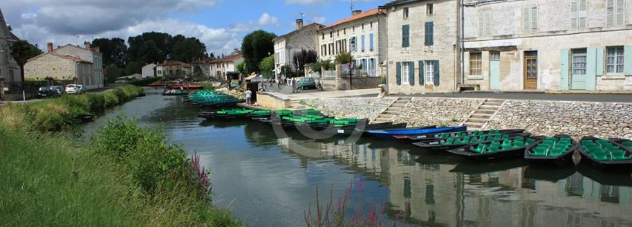 Coullon - Sèvre niortaise - Venise Verte dans le Marais Poitevin - Deux Sèvres