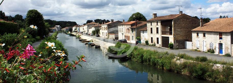 Coullon - Venise Verte - Marais Poitevin - Deux Sèvres