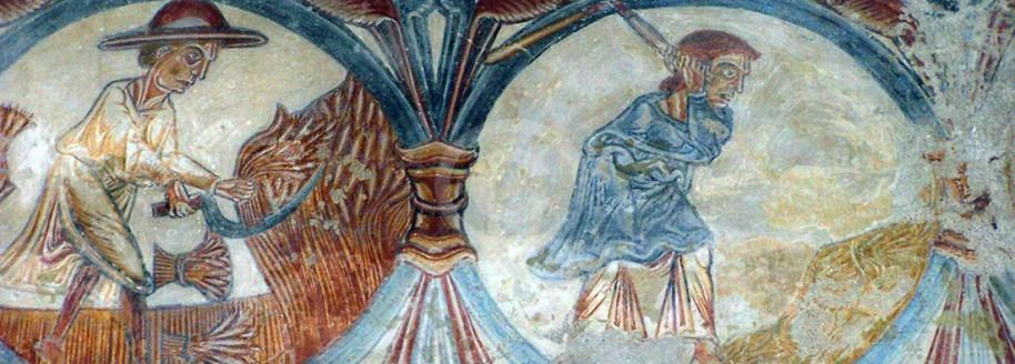 Fresques de l'église du vieux Pouzauges - Pouzauges - Vendée