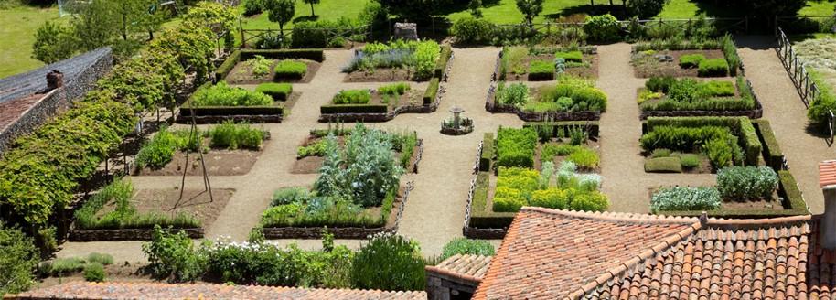 Jardin médiéval - Donjon de Bazoges-en-Pareds - Vendée