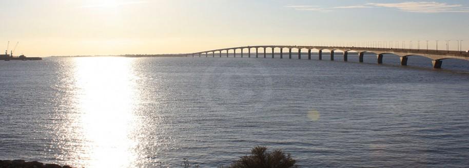 Le pont de l'île de Ré - Charente maritime