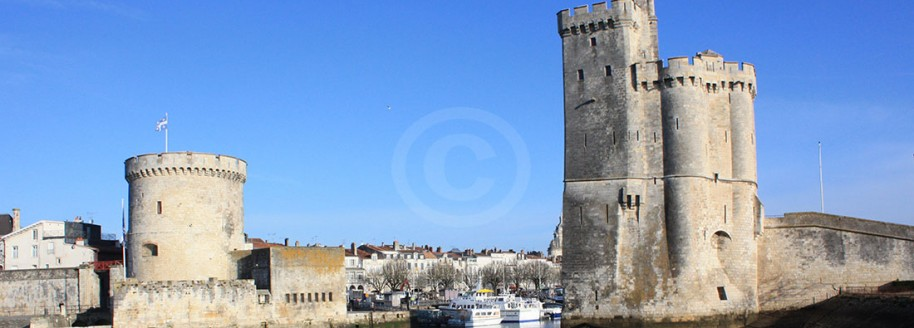 Les Tours - Vieux port de La Rochelle - Charente Maritime