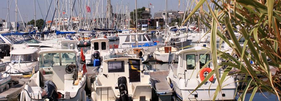 Port de plaisance- Saint-Gilles-Croix-de-Vie - Vendée - © JCB