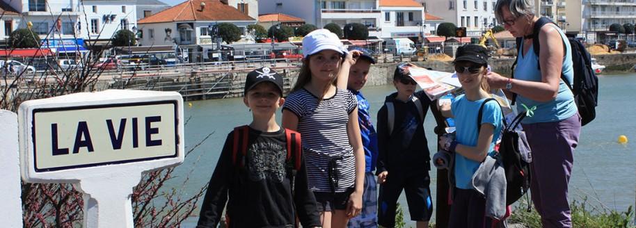 Saint-Gilles-Croix-de-Vie - Sorties scolaires et classe de mer en Vendée - © JCB