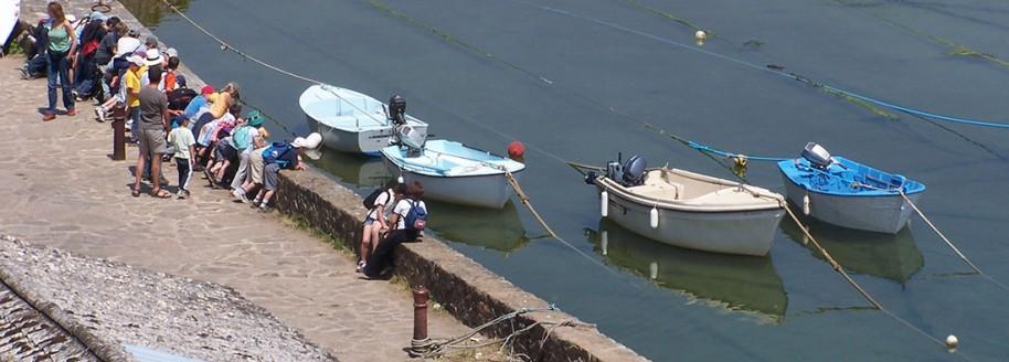 Port de la Meule - Île d'Yeu - Sorties scolaires et classe de mer en Vendée - © JCB