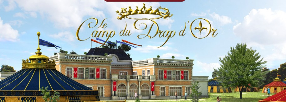 Le camp du drap d or h tel sur le parc for Les noms des hotels