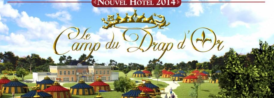 S jour h tel du puy du fou le camp du drap d 39 or nouveaut 2014 - Puy du fou le camp du drap d or ...