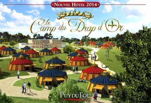 R servation puy du fou parenth se oc an voyages r servation en ligne puy d - Puy du fou le camp du drap d or ...