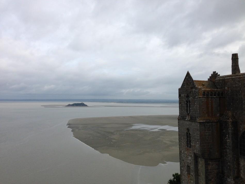 Vue du haut du Mont Saint-Michel