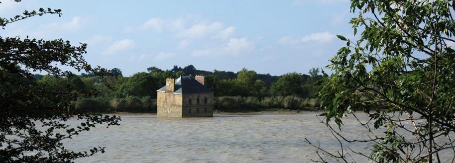 La maison dans la Loire de Jean-Luc Courcoult - Couëron - Loire atlantique - © JCB