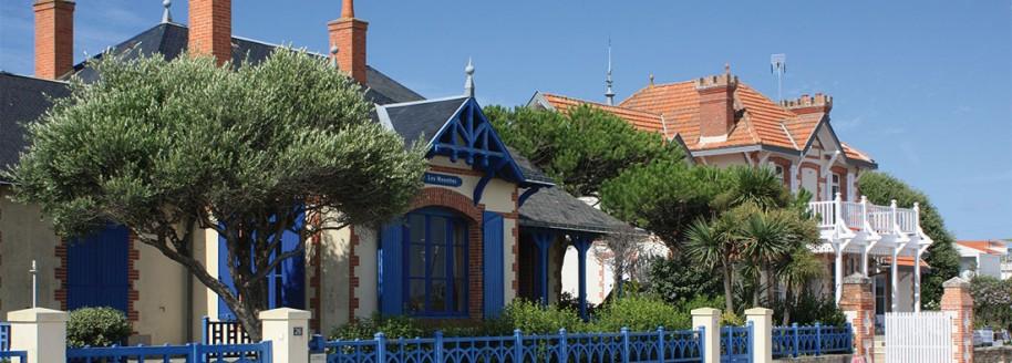 Villas de la plage de Boisvinet - Saint-Gilles-Croix-de-Vie - Vendée - © JCB