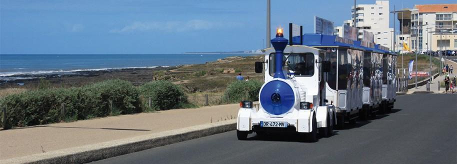 Le petit train de Vendée - Saint-Gilles-Croix-de-Vie - © JCB