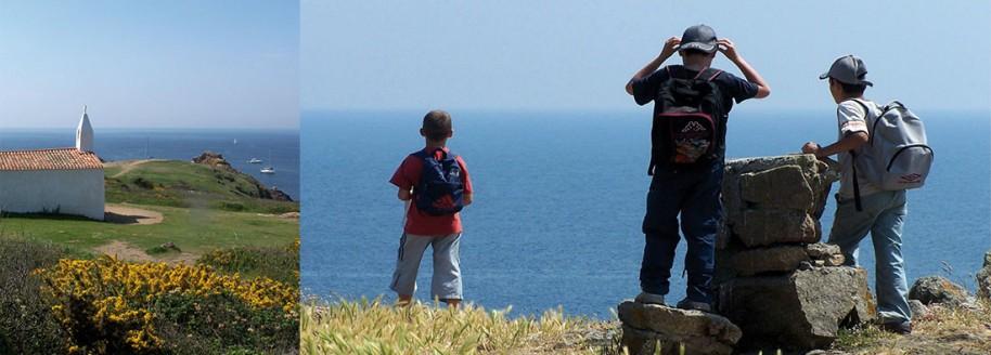 Côte sauvage - Île d'Yeu - Sorties scolaires et classes de mer en Vendée - © JCB